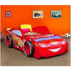 Patut copii 3-14 Ani Cars McQueen din MDF - Plastiko - Pat tematic pentru copii