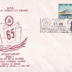 Plic special- Aniversare PCR, Ceausescu-Piatra Neamt 1986