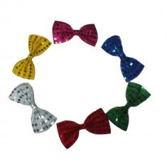Papion party cu paiete - diverse culori, Radar 17703