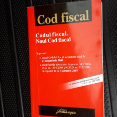 CODUL FISCAL NOUL COD FISCAL - HAMANGIU - Carte Drept financiar