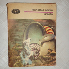 Greata 231pag/an 1981- Sartre