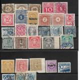 Lot timbre Austria, Stampilat