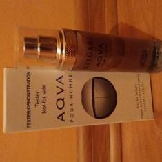 Parfum Tester Bvlgari Aqva 45ml - Parfum barbati Bvlgari, Apa de toaleta