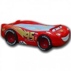 Patut copii 3-14Ani Lightning McQueen Plastiko 230x138cm - Pat tematic pentru copii