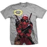 Tricou Deadpool - Nerd Grey - Tricou barbati, Marime: M, L