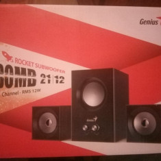 Sistem audio Genius SW-2.1 375 PC Speaker