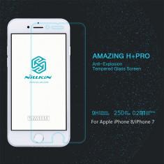 Tempered Glass iPhone 6 6S 7 8 H+PRO by Nillkin - Folie de protectie Nillkin, Lucioasa
