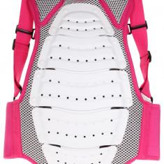 Junior FIT protectie spate copii alb-roz 134-146 Etape