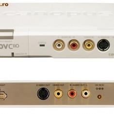 Placa de captura Bidirectionala - Analog-Digital CANOPUS ADVC-110 Firewire