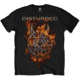 Tricou Disturbed - Burning Belief - Tricou barbati, Marime: S, L, XL