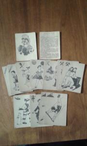 CARTI DE JOC TIP PACALICI FEKETE PETER  VARIANTA MESERII COMPLECT 35 BUC