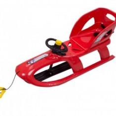 Saniuta copii 3 Ani + cu volan Cangaroo Bullet Control Red