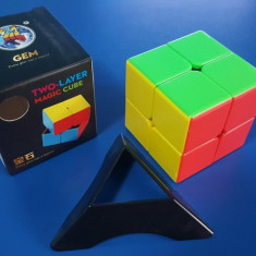 Cub Rubik 2x2x2 ShengShou Gem Profesional 50.5mm - Jocuri Logica si inteligenta
