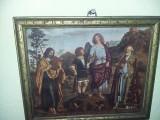 Icoana veche religioasa,tablou religios vechi,transport gratuit