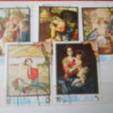 Marci postale straine  uzate  RAS AL KHAIMA, Stampilat