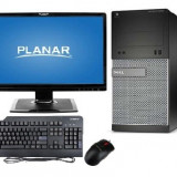 "DELL Optiplex 3020 I5-4570 + Monitor 22"" LED Planar PLL2210w - Sisteme desktop cu monitor Dell, Intel Core i5"