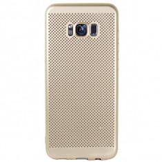 Husa Samsung Galaxy J5 2017 Perforata Gold - Husa Telefon Samsung, Auriu, Plastic, Fara snur, Carcasa