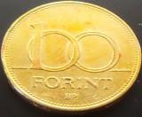Moneda 100 Forinti - UNGARIA, anul 1995   *cod 1383, Europa