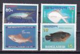 Bangladesh 1983  fauna  marina  MI 190-193  MNH   w47, Nestampilat