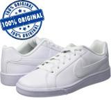 Pantofi sport Nike Court Royale pentru barbati - adidasi originali - piele, 42.5, Alb, Piele naturala