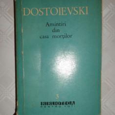 Amintiri din casa mortilor 397pagini- Dostoievski