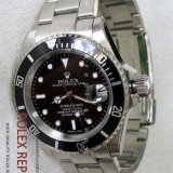 Ceas Barbatesc Rolex Submariner_Silver&Black Edition, Quartz
