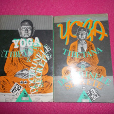 Yoga Tibetana Si Doctrinele Secrete [vol. 1+2) - Carte ezoterism