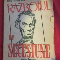 Razboiul de secesiune / Leon Lemonnier - Istorie