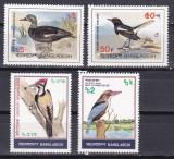 Bangladesh 1983  fauna  pasari  MI 186-89  MNH   w47, Nestampilat