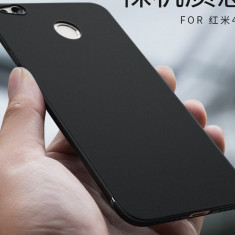Husa silicon telefon Xiaomi Redmi 4X, Universala, Negru