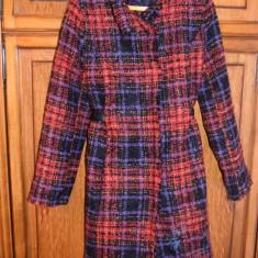 Pardesiu/Palton Desigual - Palton dama Desigual, Marime: M/L, Culoare: Multicolor