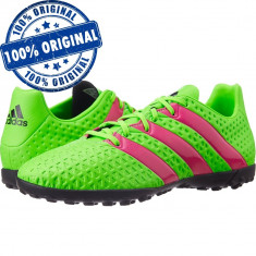 Pantofi sport Adidas Ace 16.4 pentru barbati - adidasi originali - fotbal - Ghete fotbal Adidas, Marime: 39 1/3, 41 1/3, 42, 43 1/3, 44 2/3, 45 1/3, Culoare: Verde, Teren sintetic: 1
