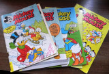 Revista Mickey Mouse 1994 - nr  3,  5, 6
