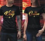 Tricouri, Bluze > King & Queen, Bff, New York, Etc. Unisex > pretul la 1 bucata