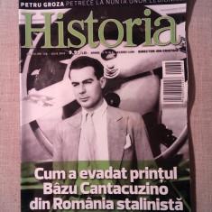 Revista Historia, nr 138 iulie 2013, Cum a evadat printul Bazu Cantacuzino - Revista culturale