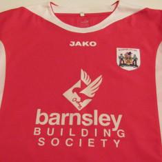 Tricou fotbal - BARNSLEY FC (Anglia) - Tricou echipa fotbal, Marime: L, Culoare: Rosu, De club, Maneca scurta