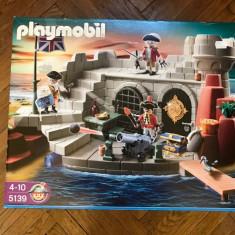 Playmobil Fortul soldatilor cu temnita (PM5139) 4-10 ani - Set de constructie, 4-6 ani, Baiat