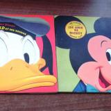 Walt Disney - 2 carticele pentru copii. limba franceza - Donald, Mickey Mouse - Carte de povesti