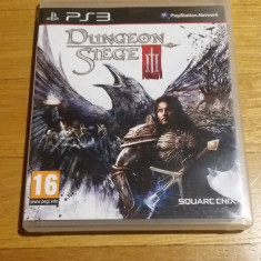 PS3 Dungeon siege 3 - joc original by WADDER - Jocuri PS3 Square Enix, Role playing, 16+, Multiplayer