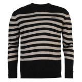 Bluza Pulover Barbati Pierre Cardin Stripe original - marimea L, Negru