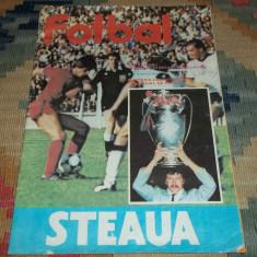 Revista Fotbal Steaua 1986 stare buna