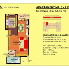 Apartament 2 camere zona Fundeni - Apartament de vanzare, 52 mp, Numar camere: 2, An constructie: 2018, Etajul 2