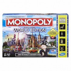 Joc de societate Monopoly editie Globala in limba romana B2348 Hasbro