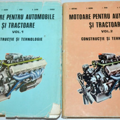 Motoare pentru automobile si tractoare Vol. 1+2. - Carti Transporturi