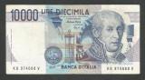 ITALIA  10000 10.000 LIRE 1984 ( 1997 ) [01] P-112d  , VF  Semn  Fazio Amici