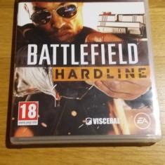 PS3 Battlefield Hardline - joc original by WADDER, Shooting, 18+, Single player, Electronic Arts