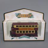 Autobuz AEC Double Decker Bus, Lledo - Macheta auto