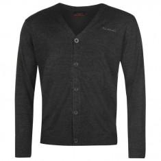 Bluza Pulover Barbati Pierre Cardin Cardigan Gre marl original - marimea S - Bluza barbati, Marime: S, Culoare: Gri