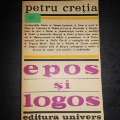 PETRU CRETIA - EPOS SI LOGOS