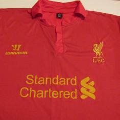 Tricou fotbal - FC LIVERPOOL (jucatorul Steven Gerrard - nr.8) - Tricou echipa fotbal, Marime: XXL, Culoare: Rosu, De club, Maneca scurta